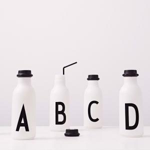 Design Letters Drikkeflaske A - Z