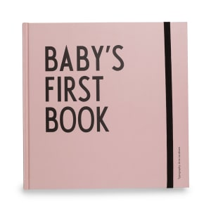 Design Letters Baby`s first book rosa