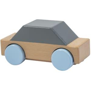 sebra bil i tre grå/blå