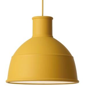 Muuto lampe Unfold mustard