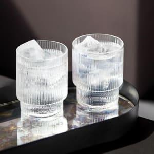 ferm living ripple glass 4/sett