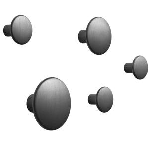 muuto the dots knagg 5pk sort