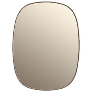 muuto framed speil small taupe