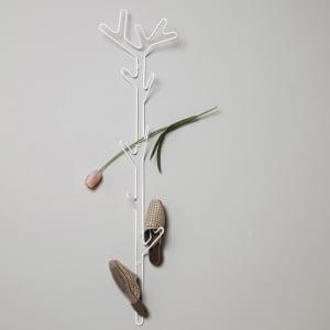 Maze branch knaggrekke hvit