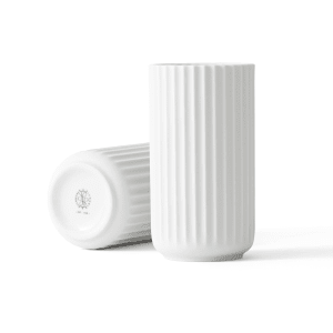 lyngby vase 15cm hvit