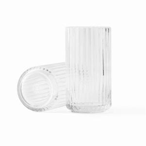 lyngby vase glass 15cm klar