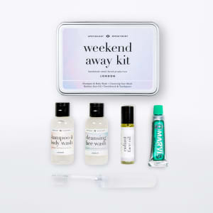 Men`s society gaveeske Weekend away kit