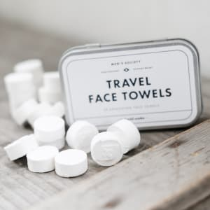 Men`s society gaveeske Travel face towels