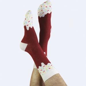 doiy icepop sokker chokolate