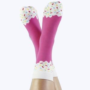doiy icepop sokker strawberry