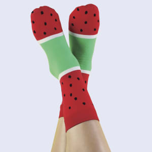 doiy icepop sokker watermelon