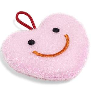 hay svamp hjerte rosa
