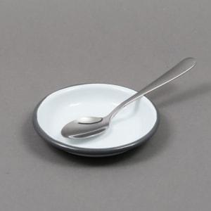 falcon sauce dish 10cm hvit/grå
