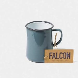 falcon mugge 11 cm grå