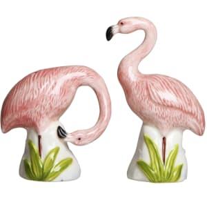 &Klevering salt og pepper flamingo