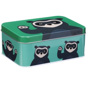 blafre brillebjørn matboks mørk grønn
