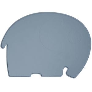 sebra elefant spisebrikke royal blue