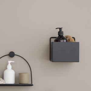 ferm living wall box liten sort