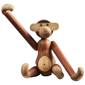 Kay Bojesen apekatt liten teak