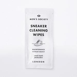 Men's society sneaker cleaning wipe