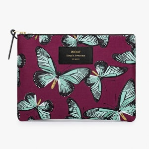 wouf pouch butterfly stor