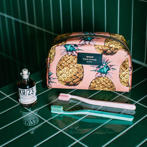 Wouf beauty bag ananas stor