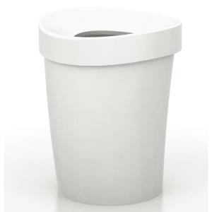 vitra søppelbøtte happy bin stor hvit