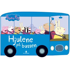 Gyldendal Peppa gris, Hjulene på bussen
