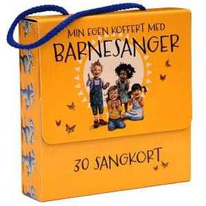 Gyldendal Min egen koffert med barnesanger