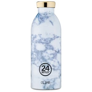 24Bottles flaske Clima 500 ml White Marble