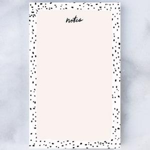 Idlewild notatblokk speckled