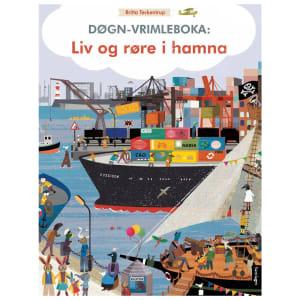 samlaget døgn-vrimleboka:liv og røre i hamna
