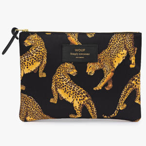 wouf pouch black leopard stor
