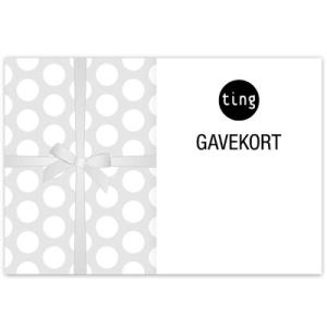 Gavekort på e-post grå