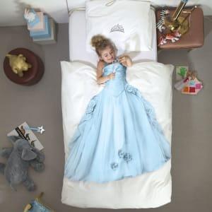 snurk sengetøy princess blue