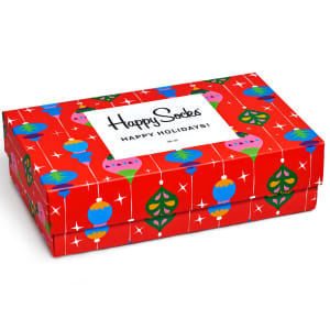 happy socks gaveeske singing holiday 3 par