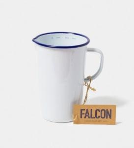 Falcon mugge 17 cm hvit