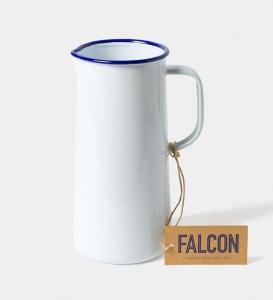 Falcon mugge 23 cm hvit