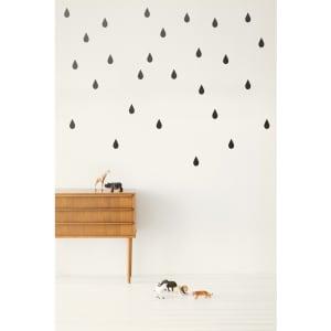 ferm LIVING små regndråper svart