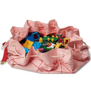 kaos samlesak leketeppe rosa/rød