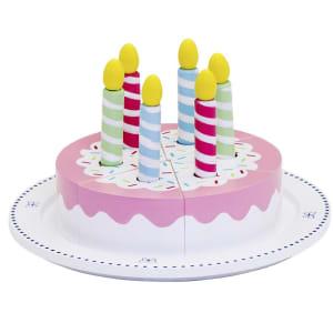 mamamemo bursdagskake med lys
