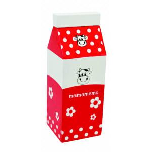 mamamemo melkekartong rød