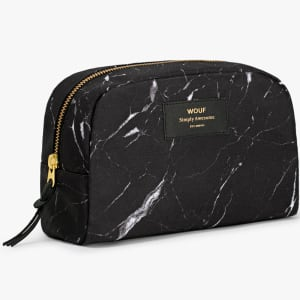 wouf beauty bag black marble stor