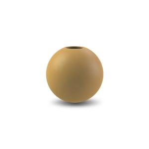 Cooee ball vase 8cm ochre