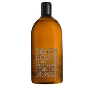 savon de marseille håndsåpe refilll incense/lavender
