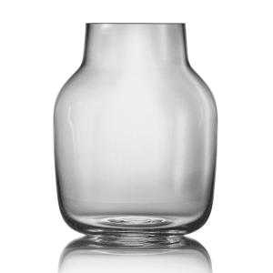 muuto silent vase stor grå