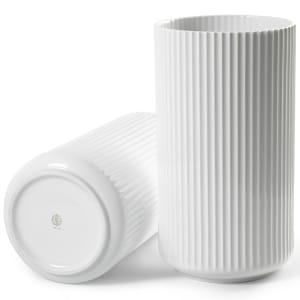 Lyngby vase 38cm hvit