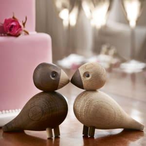 Kay Bojesen Lovebirds turtelduer