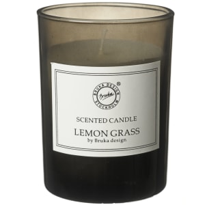 bruka design duftlys smoked lemon grass