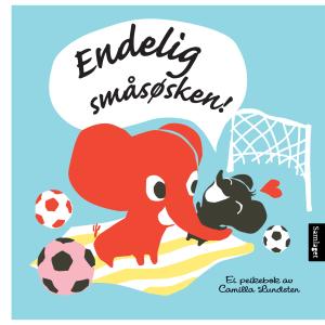 samlaget bok veslefanten endelig småsøsken